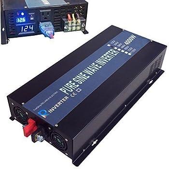 Amazon Com Reliable 4000w Solar Power Inverter 12vdc To