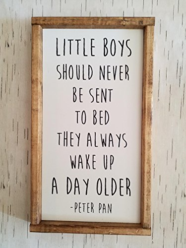 Little Boys Should Never Be Sent To Bed by Wandering Birch