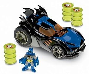 Imaginext Batman Motorised Batmobile: Amazon.co.uk: Toys