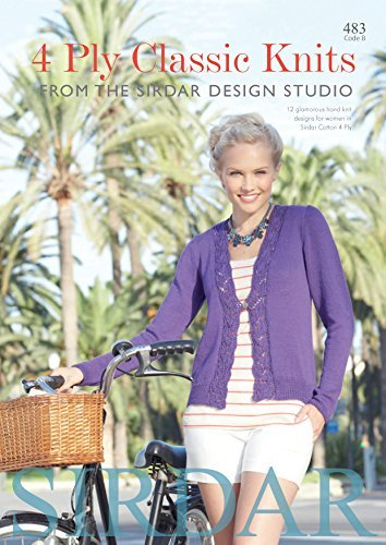 Sirdar Knitting Pattern Book 483 4Ply Classic Knits by Sirdar