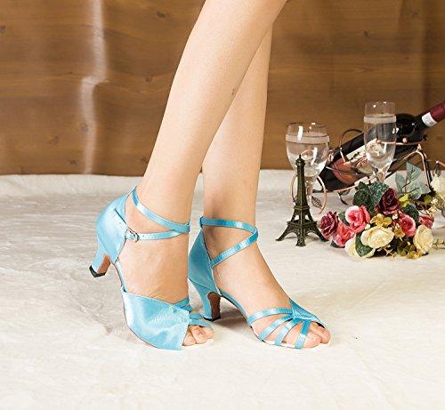 Salle de heel bal Miyoopark femme Blue 6cm ZdqZRg