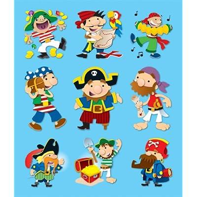 Carson Dellosa Pirates Prize Pack Stickers (168042): Carson-Dellosa Publishing: Office Products