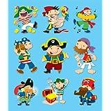 Carson Dellosa Pirates Prize Pack Stickers (168042)