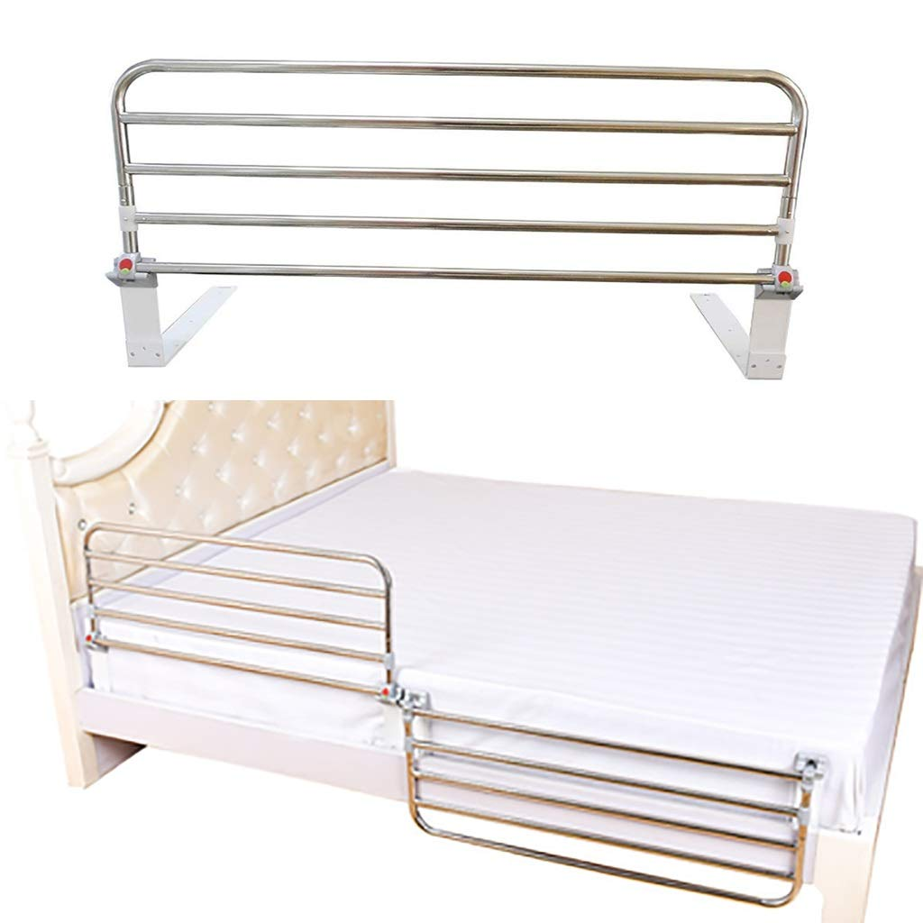 CYYC Bed Rail Safety Side Guard for Elderly, Adults, Toddler and Kids Assist Handle Handicap Bed Railing Folding Hospital Metal Grip Bumper Bar (1pcs), 65cm, 95cm (Colour : 6050cm): Amazon.in: Industrial &