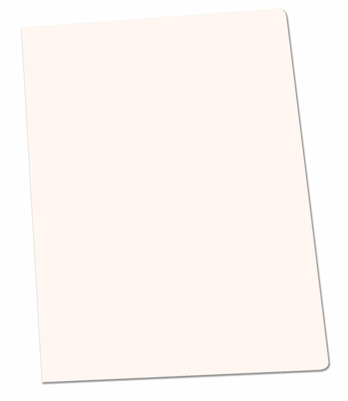 Elba Gio–Pack di 50cartelline semplici, formato A4, colore: bianco Hamelin Brands 400040553