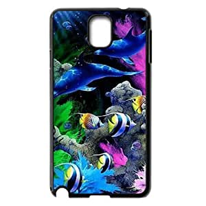 Dolphins ZLB811125 Custom Phone Case for Samsung Galaxy Note 3 N9000, Samsung Galaxy Note 3 N9000 Case