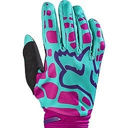 2017 Fox Racing Womens Dirtpaw Gloves-Purple/Pink-XL