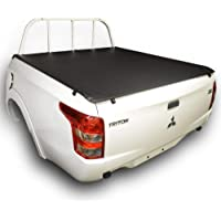 ClipOn Ute/Tonneau Cover for Mitsubishi Triton MQ (May 2015 to 2019) Double Cab suits Headboard