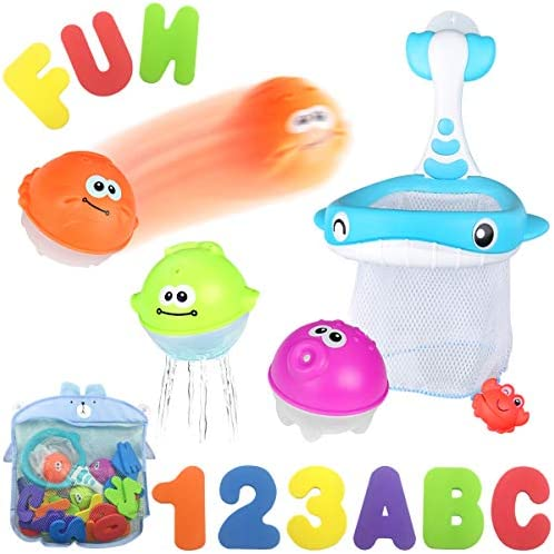 Letters Floating Organizer Catching Toddlers