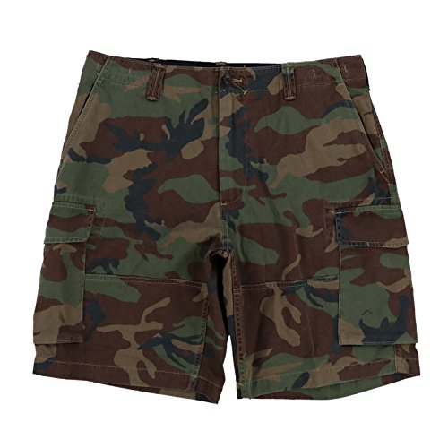 Polo Ralph Lauren Mens Relaxed Fit Cargo Shorts (34, Green Camo)