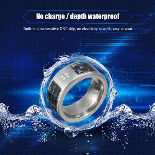 Wang Yaqin NFC RFID Magic Wearable Water Proof Smart Rings Universal Compatible For Android Windows Mobile Phone (11) by Wang Yaqin (Image #5)