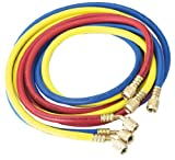 Robinair 30072 1/4'' Standard Hoses with Standard Fittings Set - 72'', Set of 3