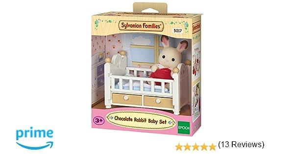 SYLVANIAN FAMILIES- Chocolate Rabbit Baby Set Mini muñecas y Accesorios,, Norme (Epoch para Imaginar 5017)