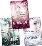 Julie Kagawa, The Iron Fey Series Set (The Iron King / The Iron Daughter / The Iron Queen)