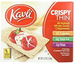Amazon.com: Kavli Thin Crispbread, 5.29-Ounce Boxes (Pack