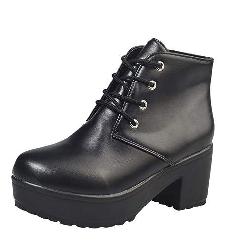 Amlaiworld Damen Schuhe ❤️ Plateau Outdoor Damen Stiefel