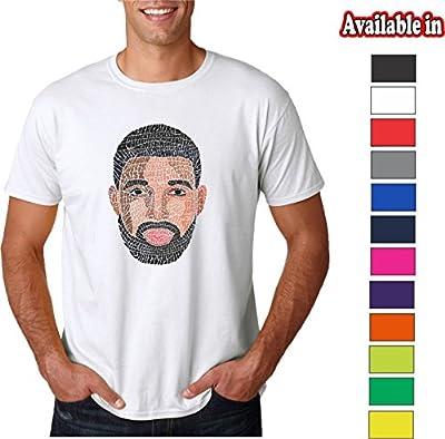 Go.Custom Lyrical Calligram FACE Song Names Design T-Shirts Hoodies Tanks Crewnecks
