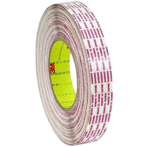 3M T9634762PK Double Sided Extended Liner Tape, 1/2