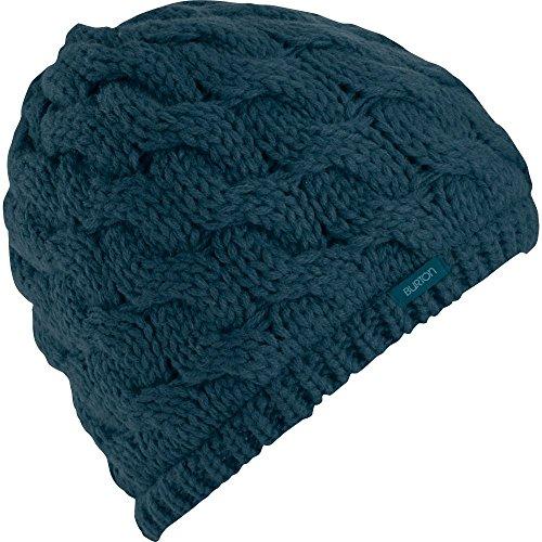 Burton Women's Birdie Beanie, Jaded, One - Flap Everest Hat