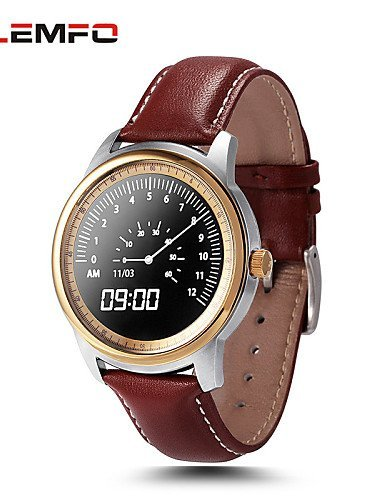 Lemfo LEM1 Bluetooth Smart Watch Full HD IPS Screen SmartWatch Wearable Devices Fitness Tracker For IOS Android New , gold by FMSBSC