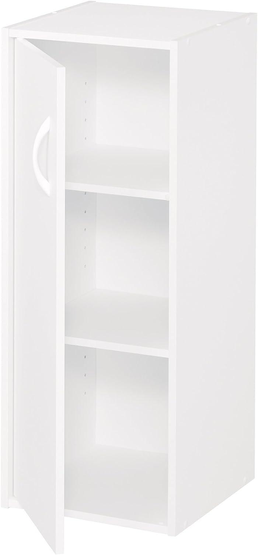 ClosetMaid 8988 Stackable 1-Door Organizer, White: Home & Kitchen