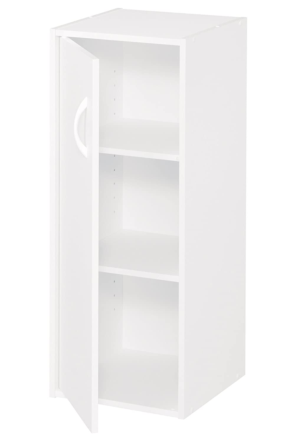 ClosetMaid 8988 Stackable 1-Door Organizer, White