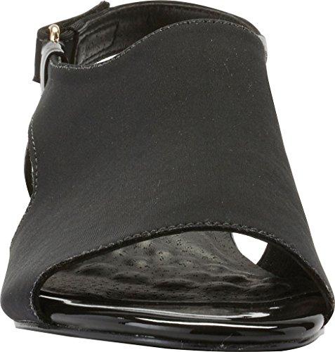 Patent Women's Slingback Cradles Demi Daphne Wedge Black Walking Micro a8q5Sx