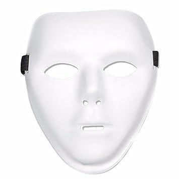 PromMask Mascara Facial Careta Protector de Cara dominó Frente Falso Bola de Baile Ambiental máscara Danza