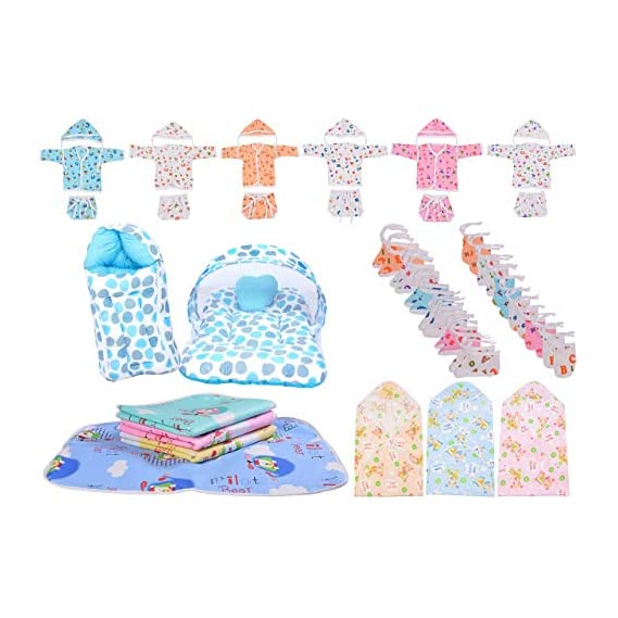 Toddylon New Born Baby Gift Set Combo Pack of 39 Items (0-6 Months)
