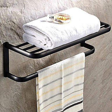 MEI Oil Rubbed Bronze Brass Wall-mounted Towel Bar by MEI