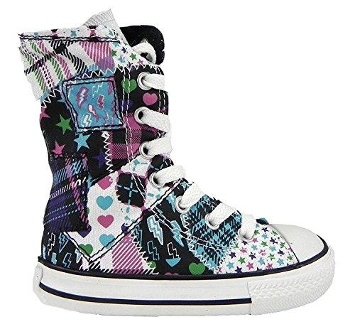 All Star nouveau grand patch XHi chaussures multicolores nourrissons / tout-petits taille 734567F (4)