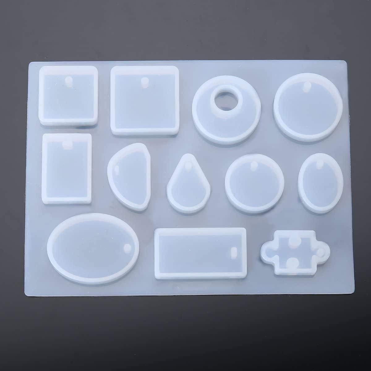 À faire soi-même Silicone Boîte de rangement Moule Résine époxy de coulée Bijoux Moule Craft Outil SP