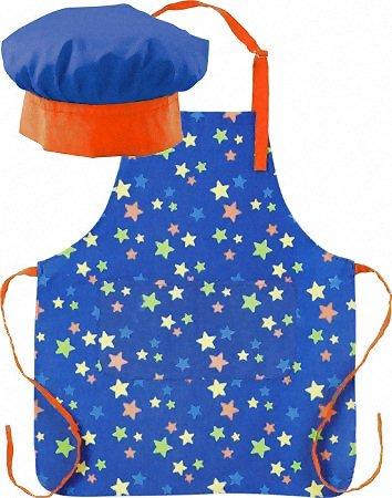 Grembiuli Da Cuoco Per Bambini.Miniamo Space Set Da Cuoco Per Bambini Cappello E