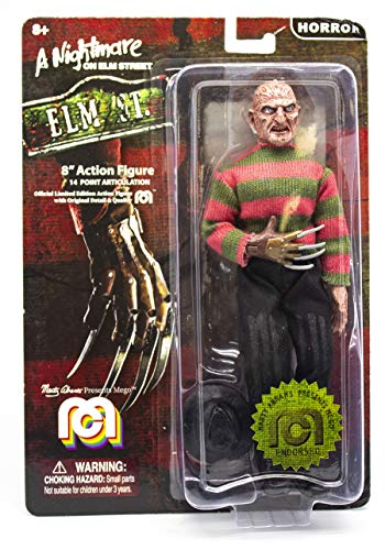 Mego Action Figures, 8″ Nightmare On Elmstreet – Freddy (Limited Edition Collector's Item)