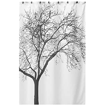 Exceptional This Item Dozenegg Waterproof Shower Curtain With Tree Design 180 Cm X 180  Cm