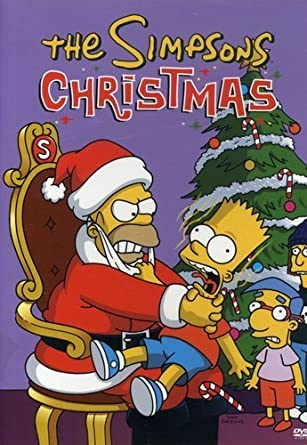 Christmas Simpsons.Amazon Com The Simpsons Christmas Dan Castellaneta