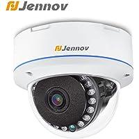 Jennov 1200TVL Outdoor Dome Security Camera IR Night Vision 3.6mm Lens Home Surveillance Cctv Camera