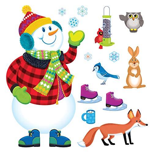 TREND enterprises, Inc. Super Snowman Bulletin Board Set -