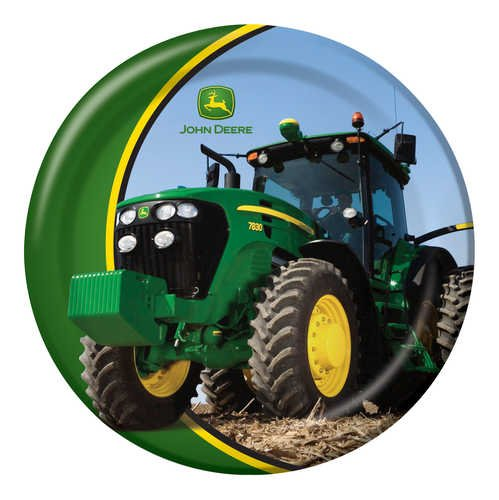 Barn Costume Ideas Dance (John Deere Round Dinner Plates, 8)