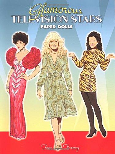 Glamorous Television Stars Paper Dolls (Dover Celebrity Paper Dolls)