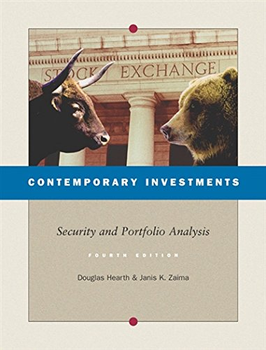 Portfolio Hearth - Contemporary Investments: Security and Portfolio Analysis