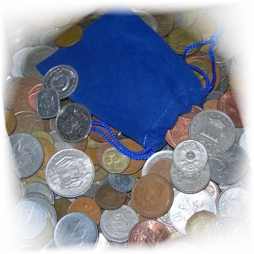 Moenich World Coin Grab Bag - 50 Coin Assortment (Original Version)