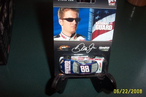 Dale Earnhardt Jr #88 National Guard AMP Mountain Dew Motorsports Authentics Car of Tomorrow Today Pit Stop Series 1/64 by Motorsports Authentics