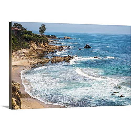 La Jolla Cove, San Diego, California Canvas Wall Art Print, 48