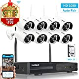 [Full HD] Best Wireless Security Camera System, Isotect 8CH 1080P CCTV Surveillance System WiFi NVR Kits, 8pcs 1080P Security Cameras Wireless Outdoor,Motion Detection Remote View, 2TB Hard Drive Review