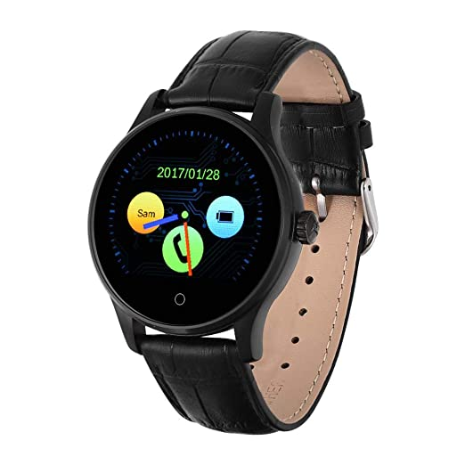Naroote Reloj Inteligente Bluetooth,Monitor de Pulso ...