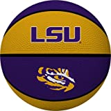 NCAA Louisiana State Fightin Tigers Alley Oop Dunk Basketball by Rawlings