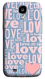 Samsung Galaxy S4 I9500 Hard Case - Love Galaxy S4 Cases