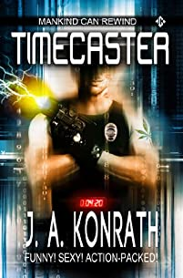 Timecaster by J.A. Konrath ebook deal