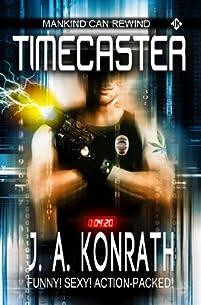 Timecaster by J.A. Konrath ebook deal